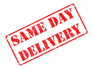 Same-Day, Overnight & Rush Delivery